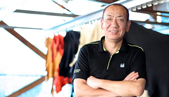 第二工場素材管理 工場長原田 弥宏