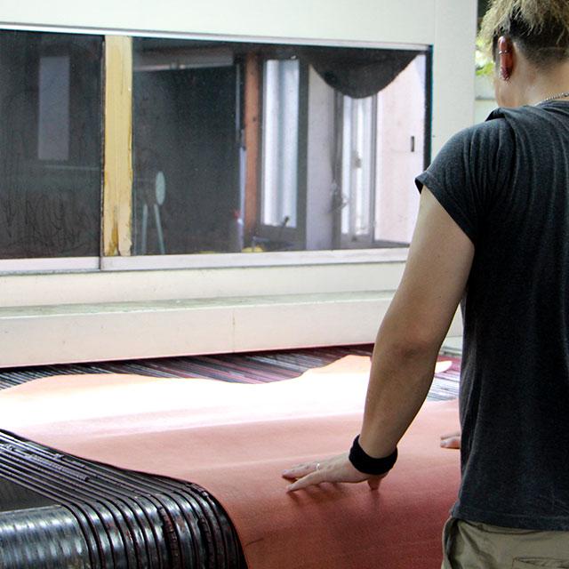 塗装作業(機械ぬり)